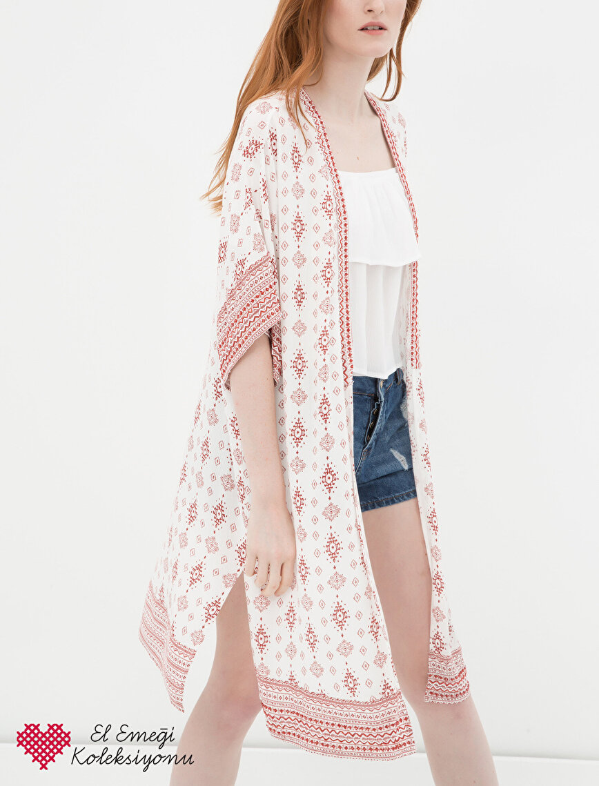 Patterned Kimono