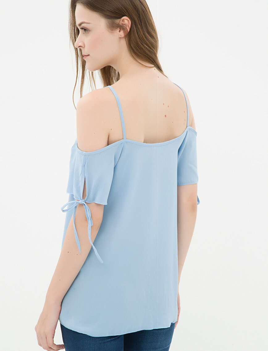Strapless Blouse