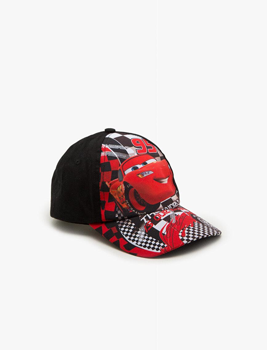 Arabalar Baskılı Şapka