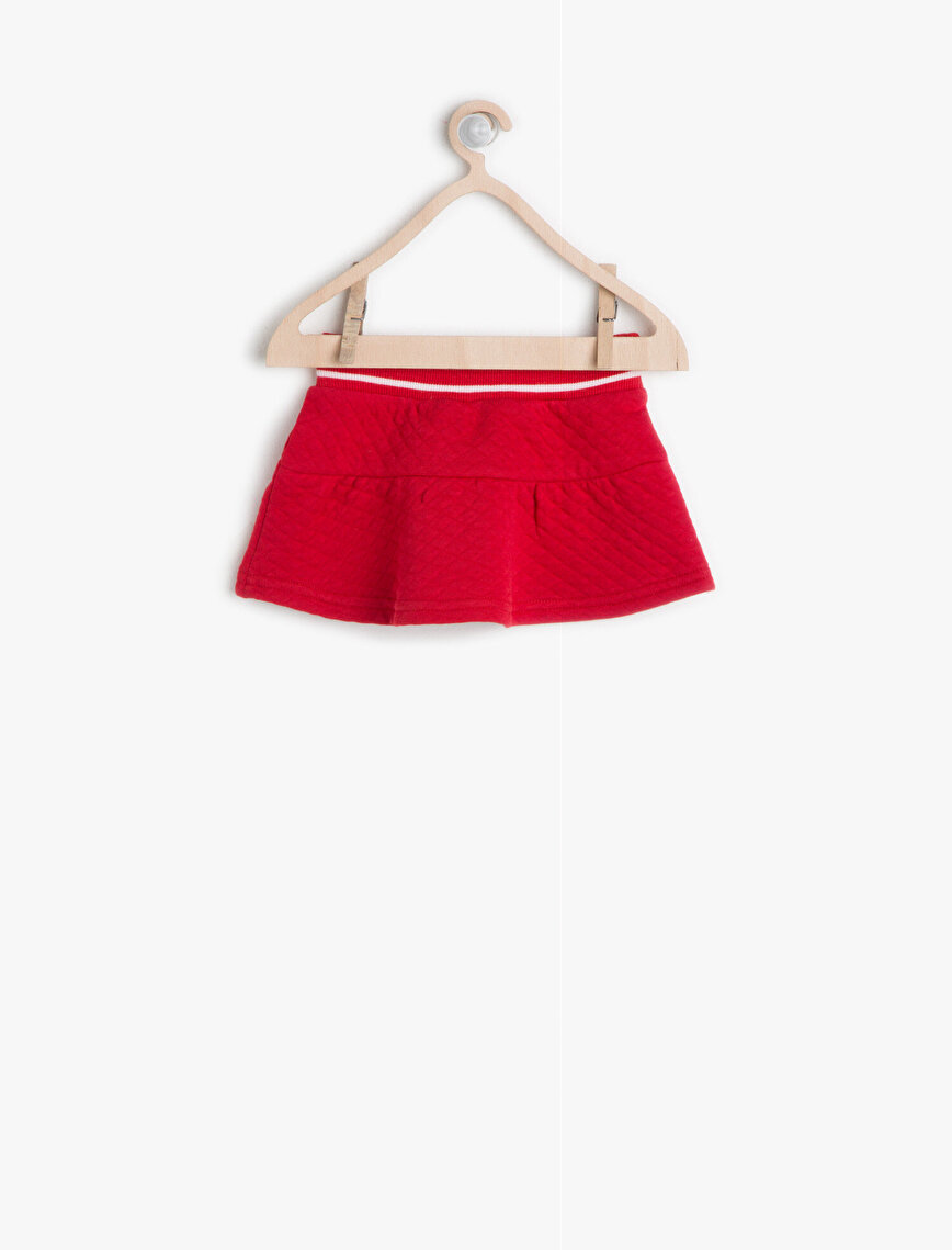 Relaxad Fit Skirt
