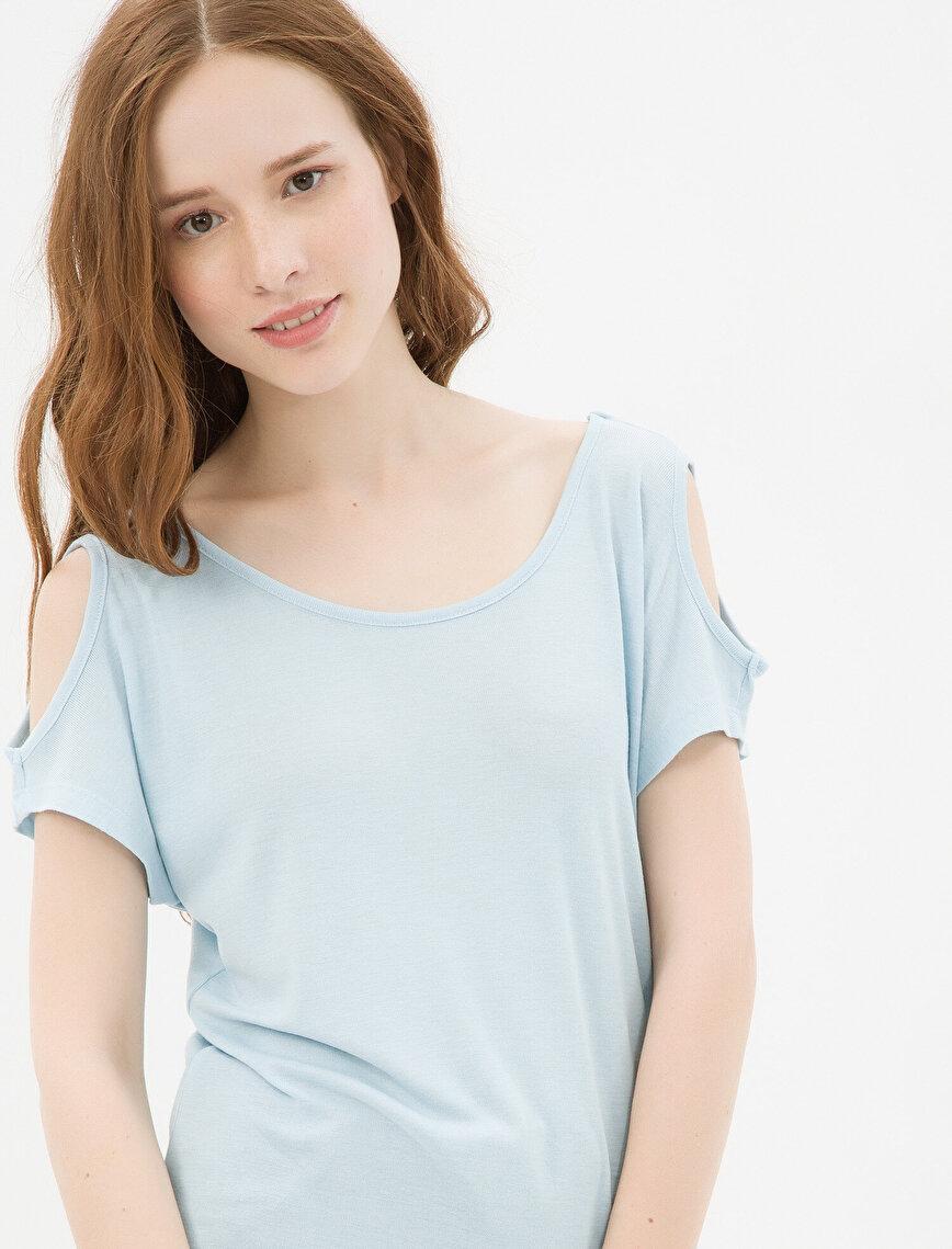 Shoulder Detailed T-Shirt