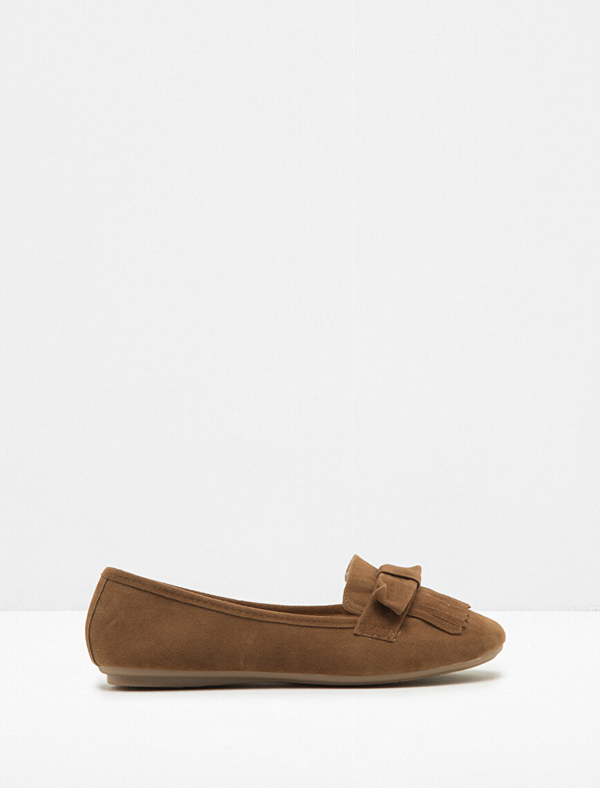 Bow Detailed Loafers