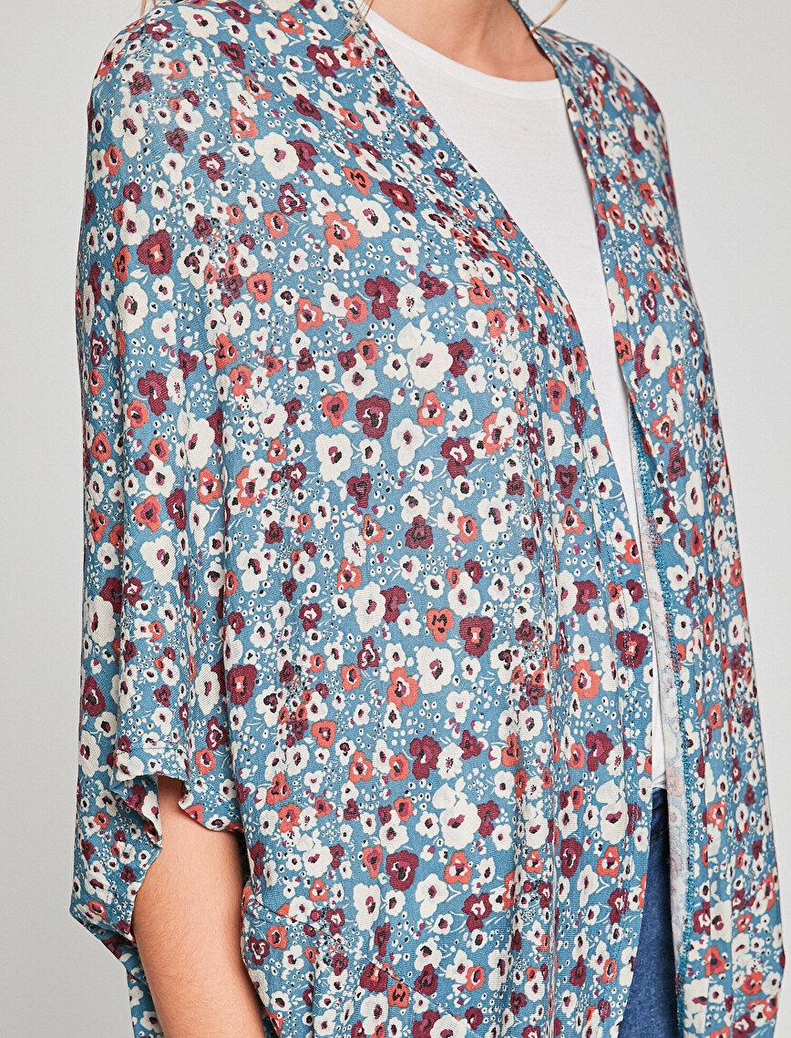 Floral Patterned Cardigan