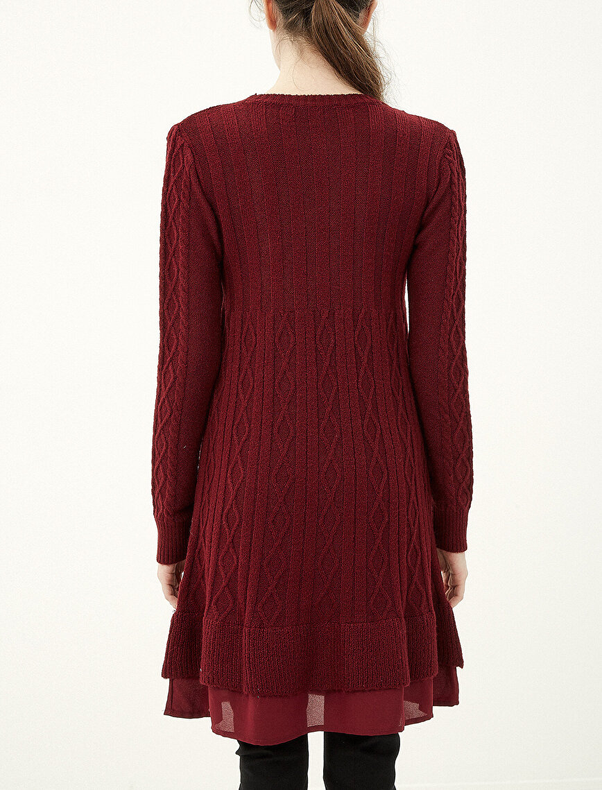 Tulle Detailed Tunic