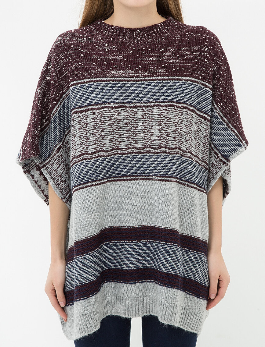 Relaxed Fit Poncho