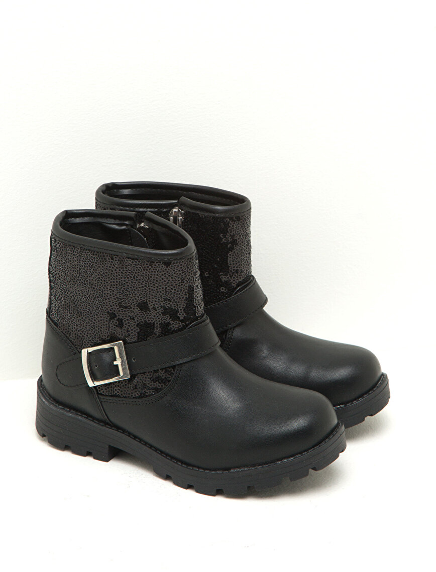 Buckle Detailed Boots