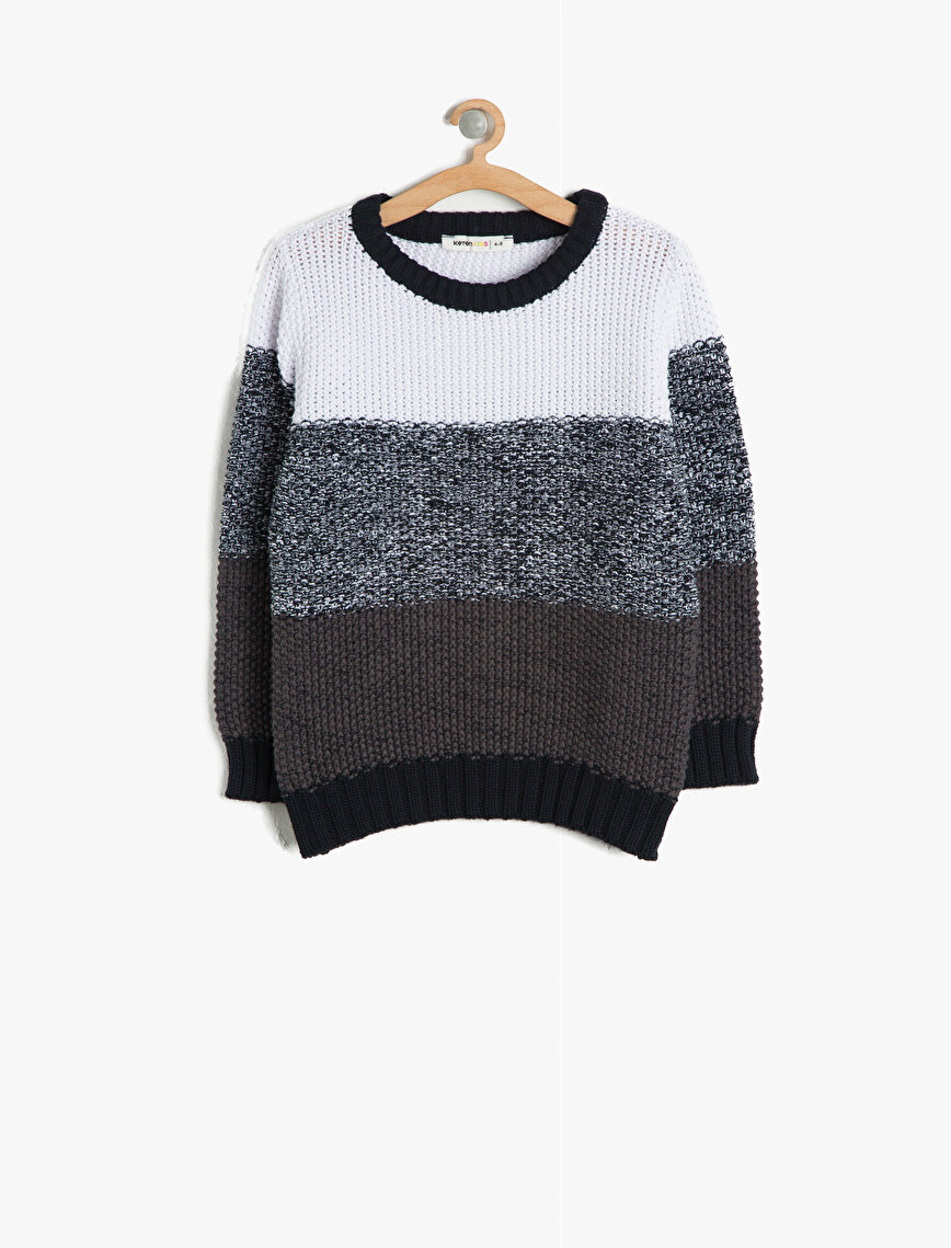 Color Block Jumper