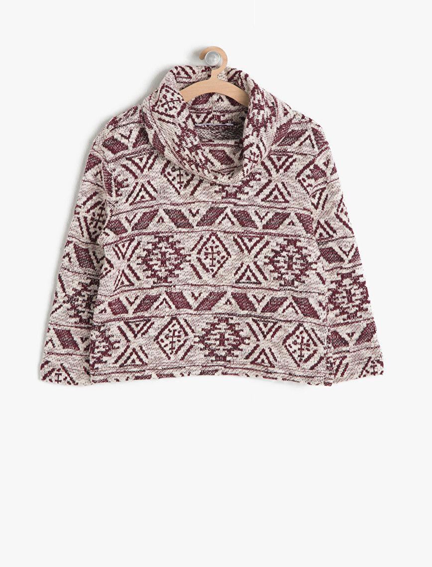 Ethnic Patterned Jumper