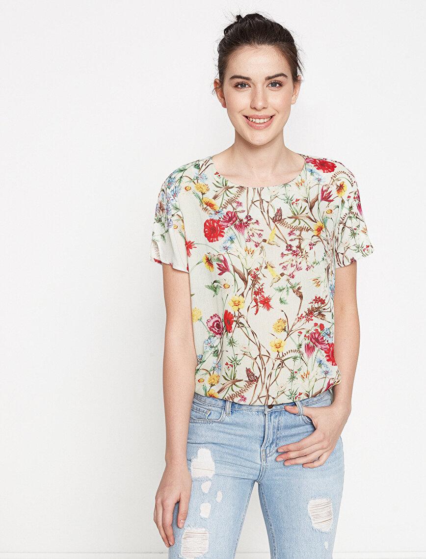 Koton Plus Floral Blouse