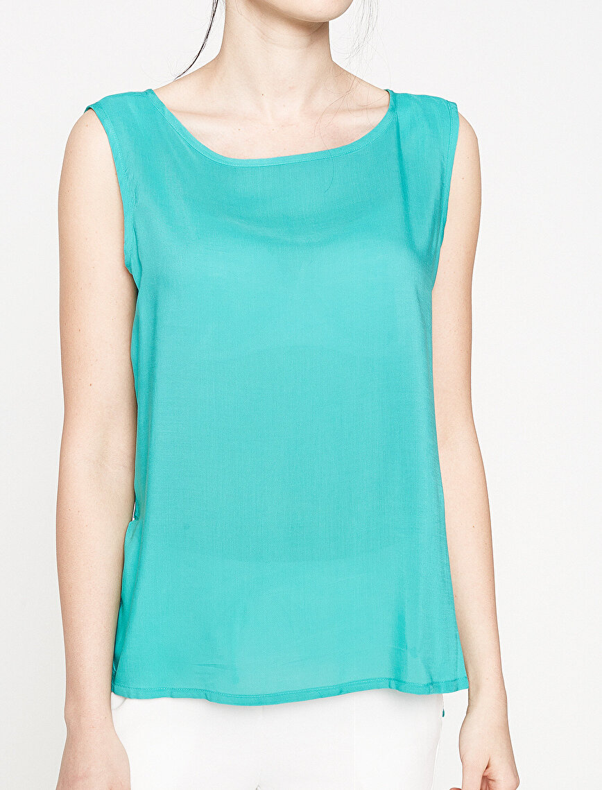 Koton Plus Scoop Neck Tank Top