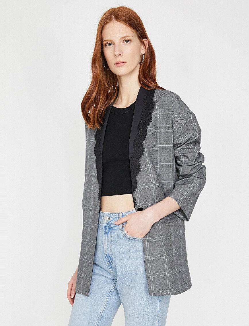 Şal Yaka Ceket