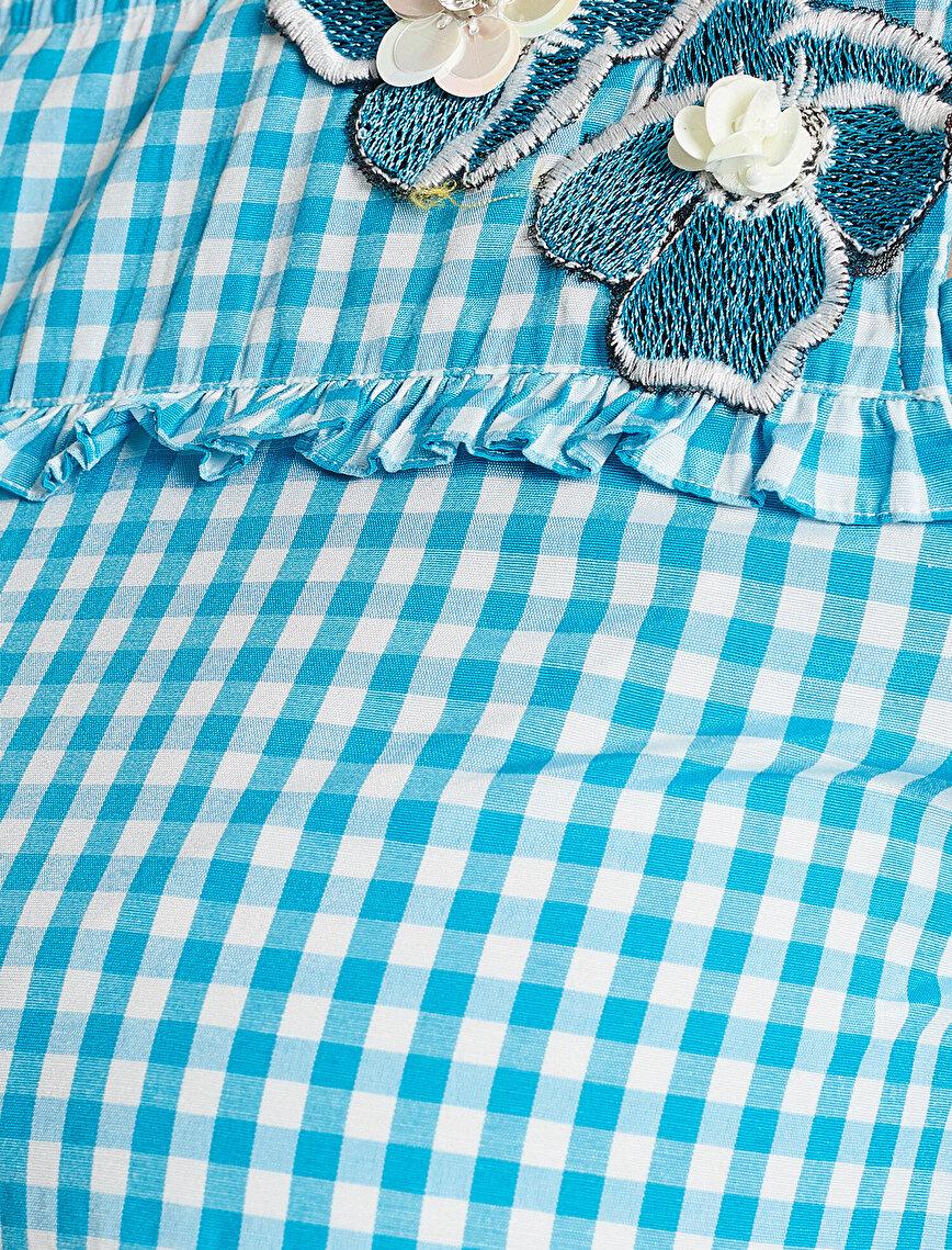 Nakış Detaylı Bluz