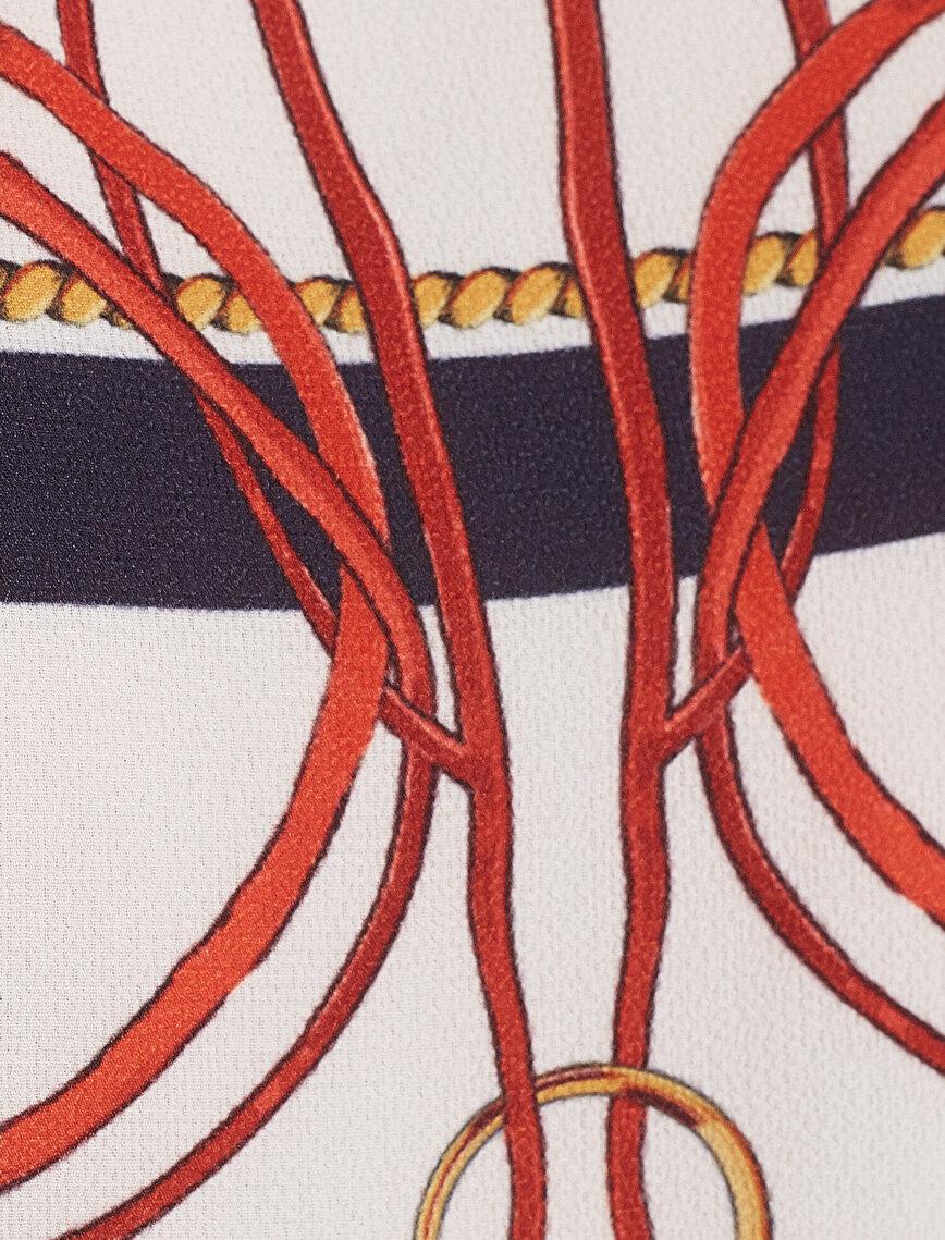 Desenli Bluz
