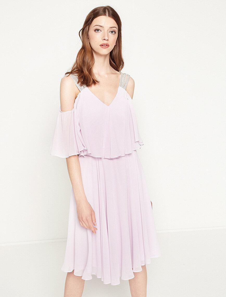 Shoulder Detailed Dresses