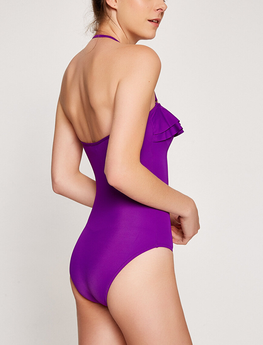 Frill Detailed Swimsuit