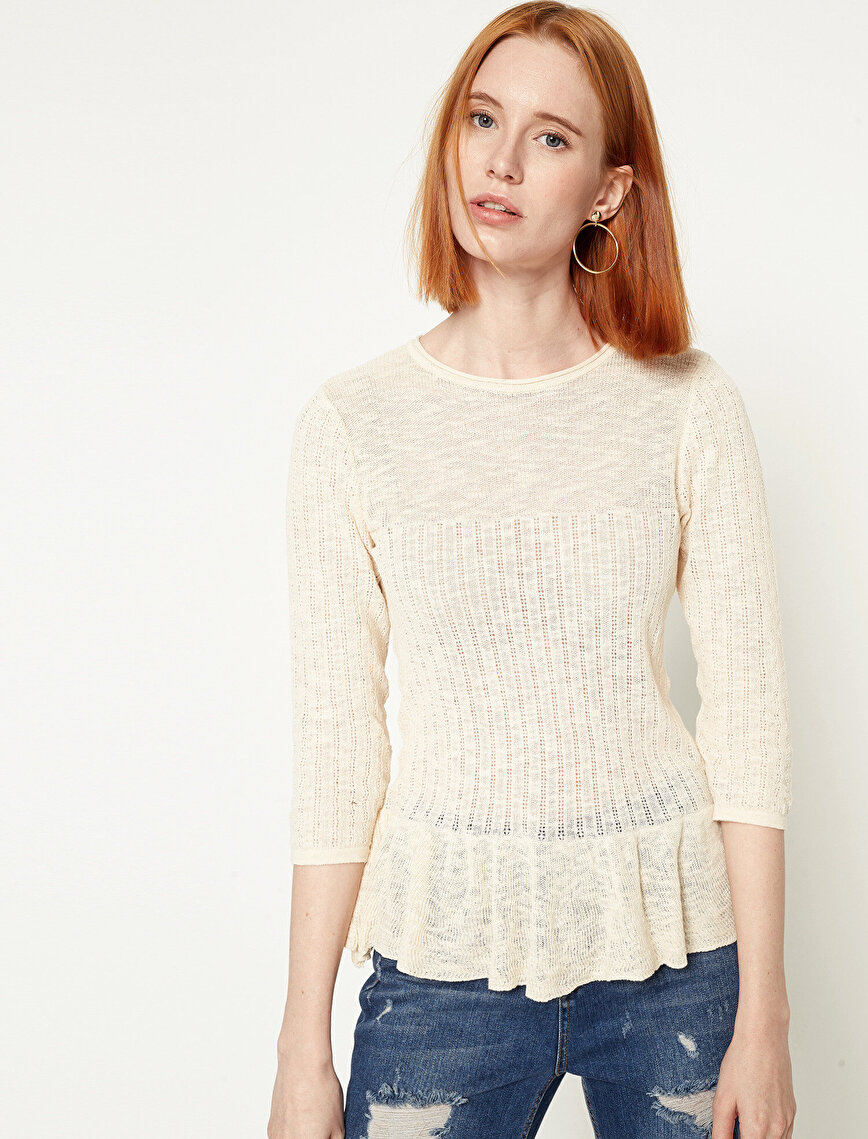 Frill Detailed Sweaters