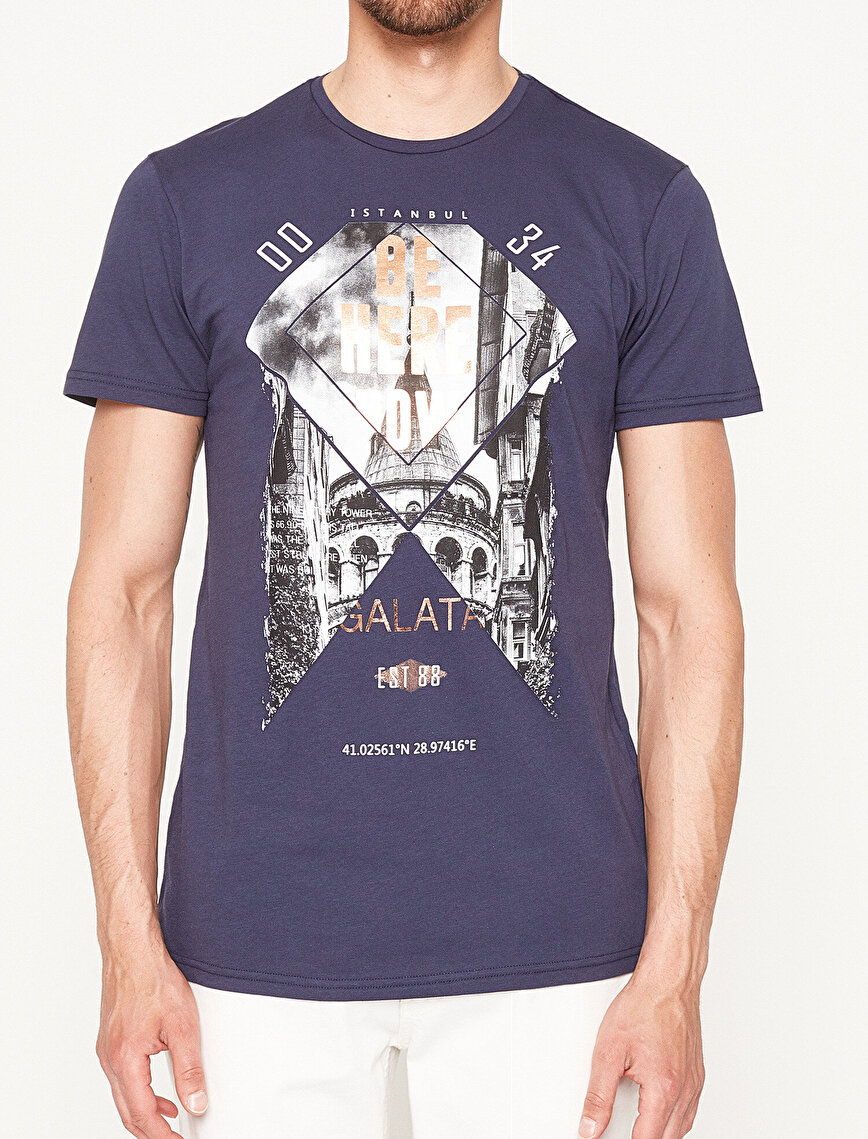 İstanbul Printed T-Shirt