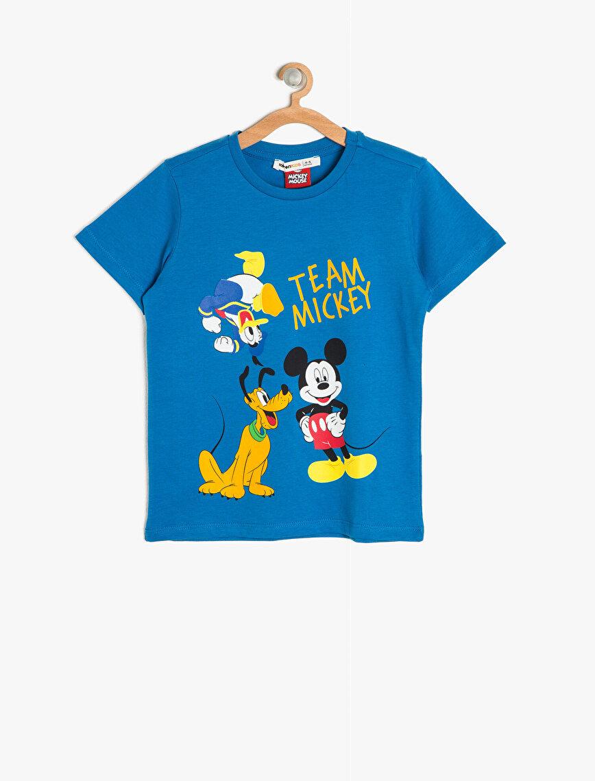 Mickey Baskılı T-Shirt