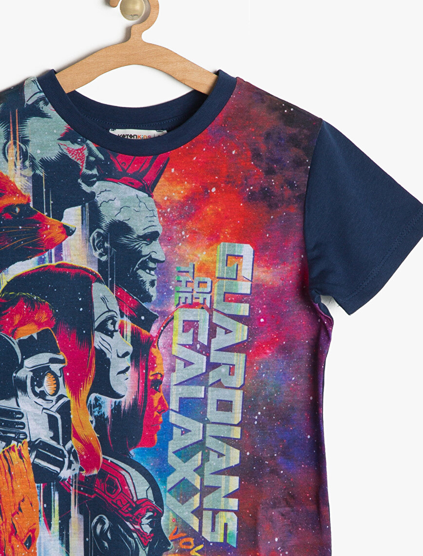 Licenced Guardians of the Galaxy Printed T-Shirt