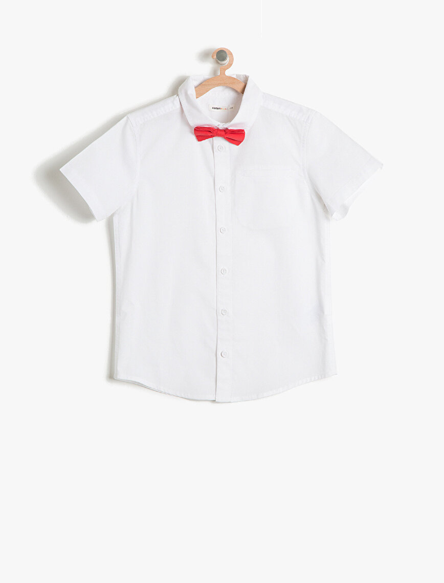 Bowtie Detailed Shirt
