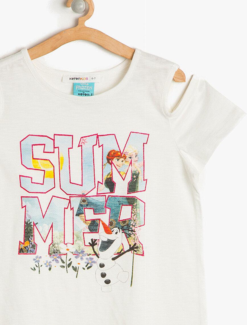 Frozen Baskılı T-Shirt