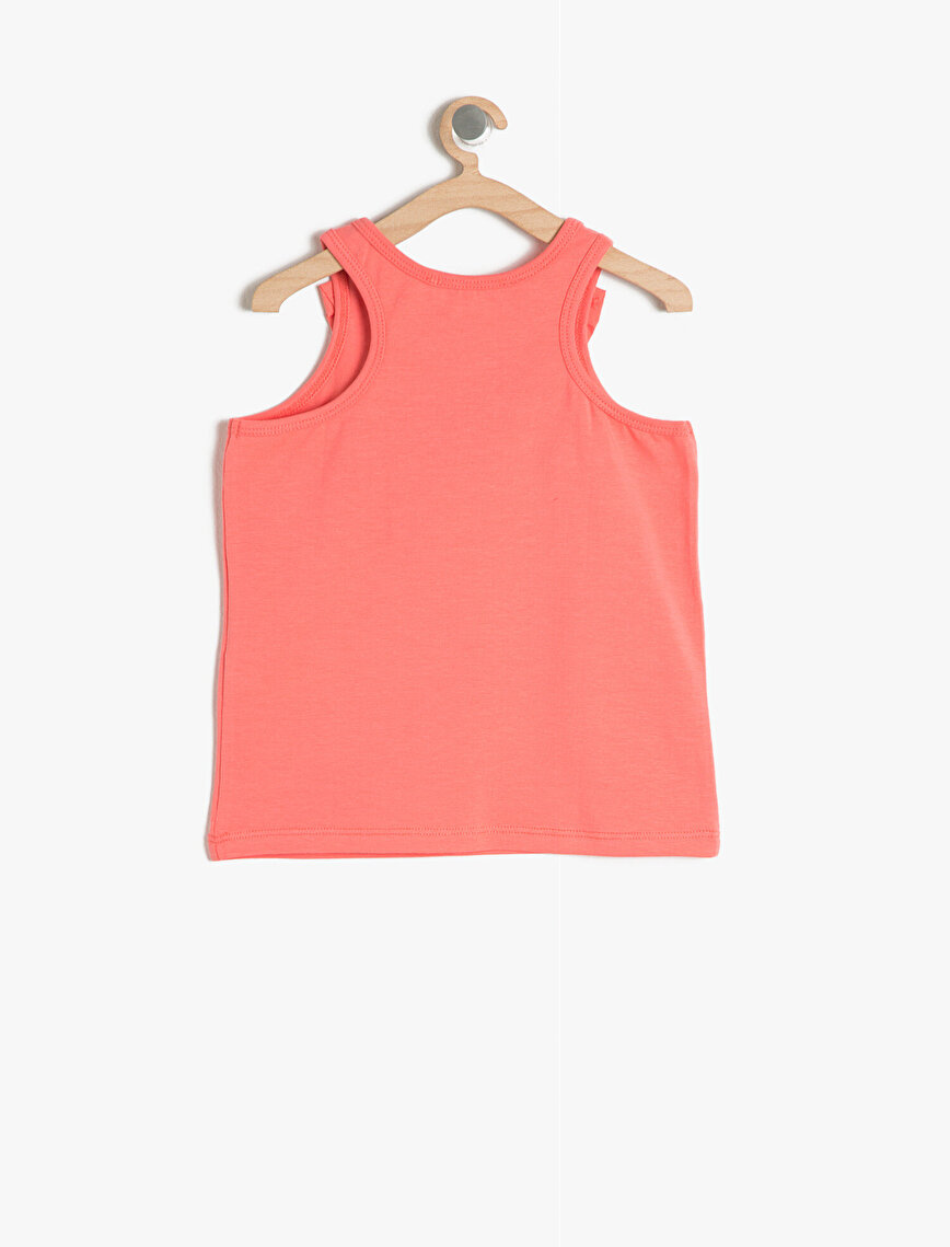 Frill Detailed Tank Top