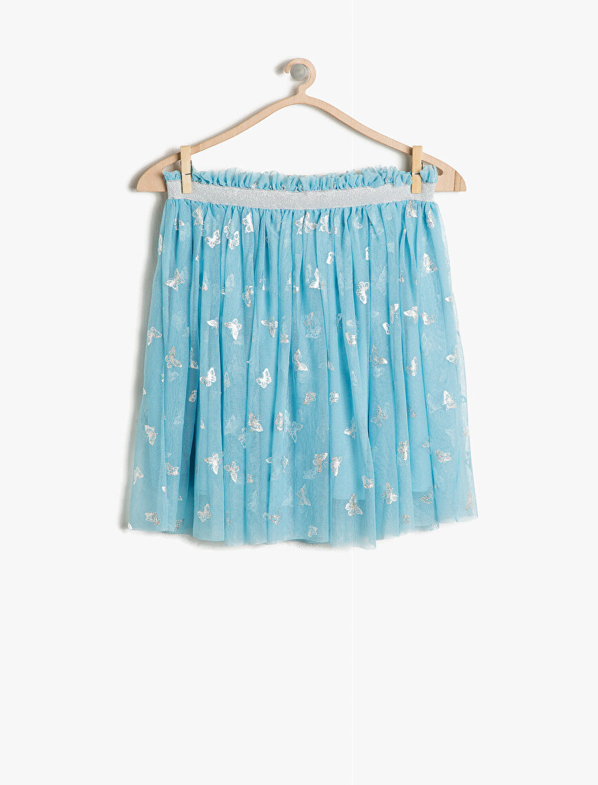 Tulle Detailed Skirt