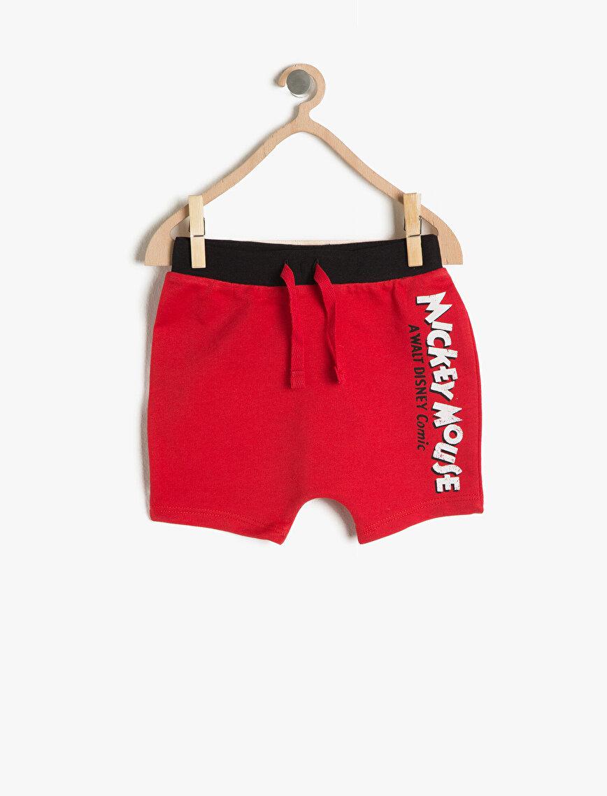 Mickey Printed Shorts