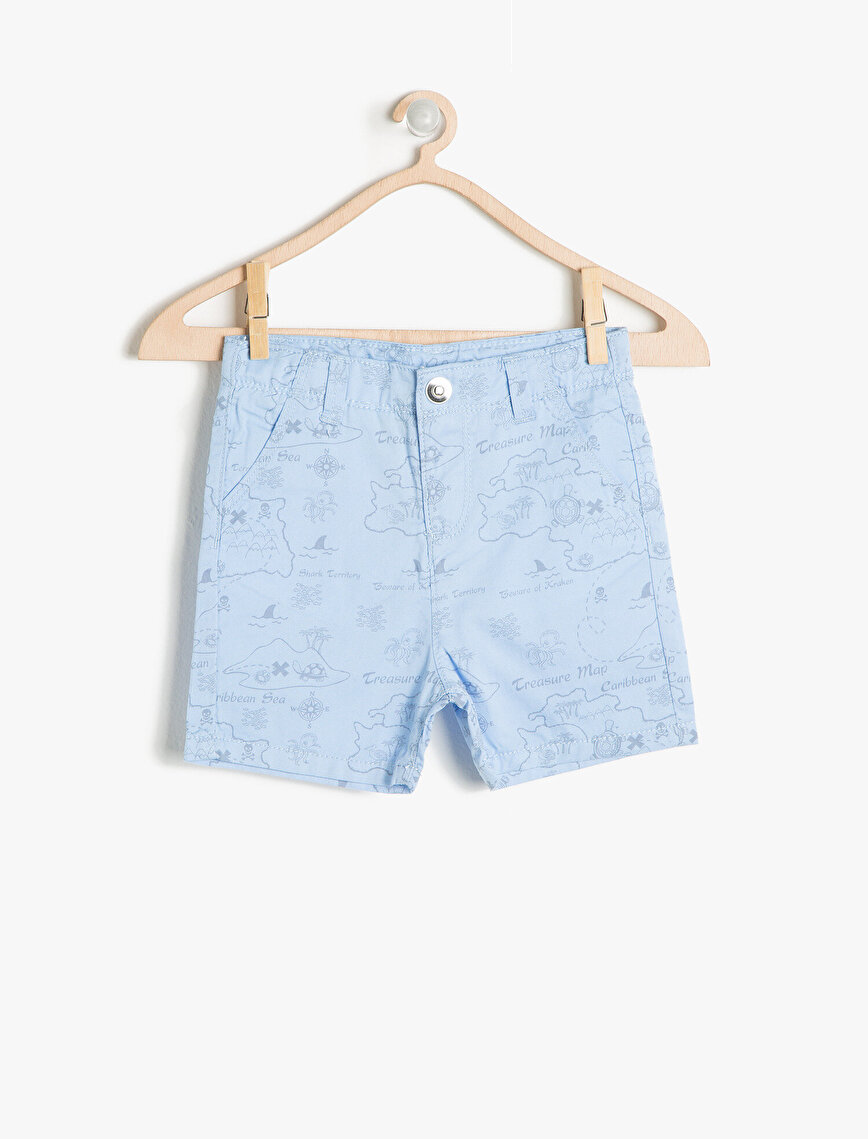 Button Detailed Short