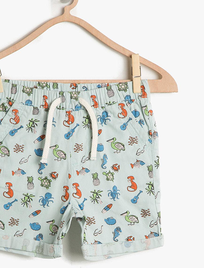 Animal Printed Shorts