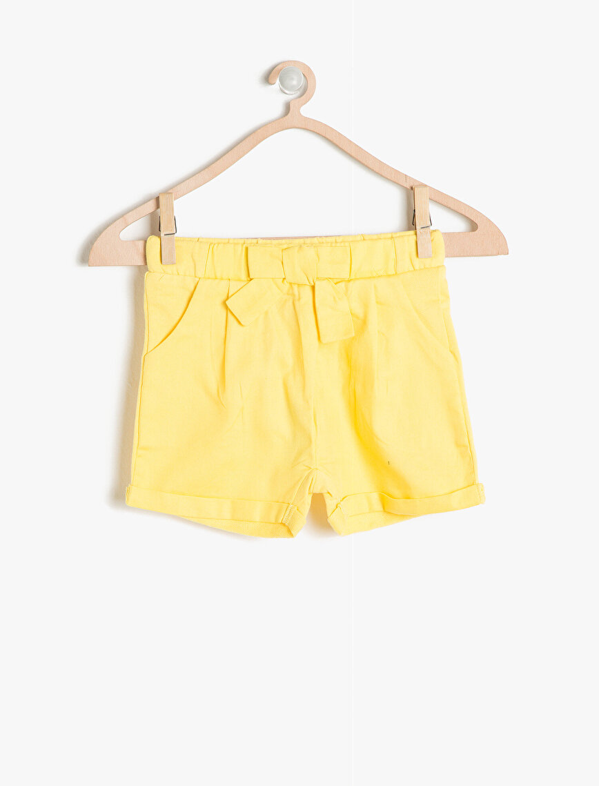 Bow Detailed Shorts