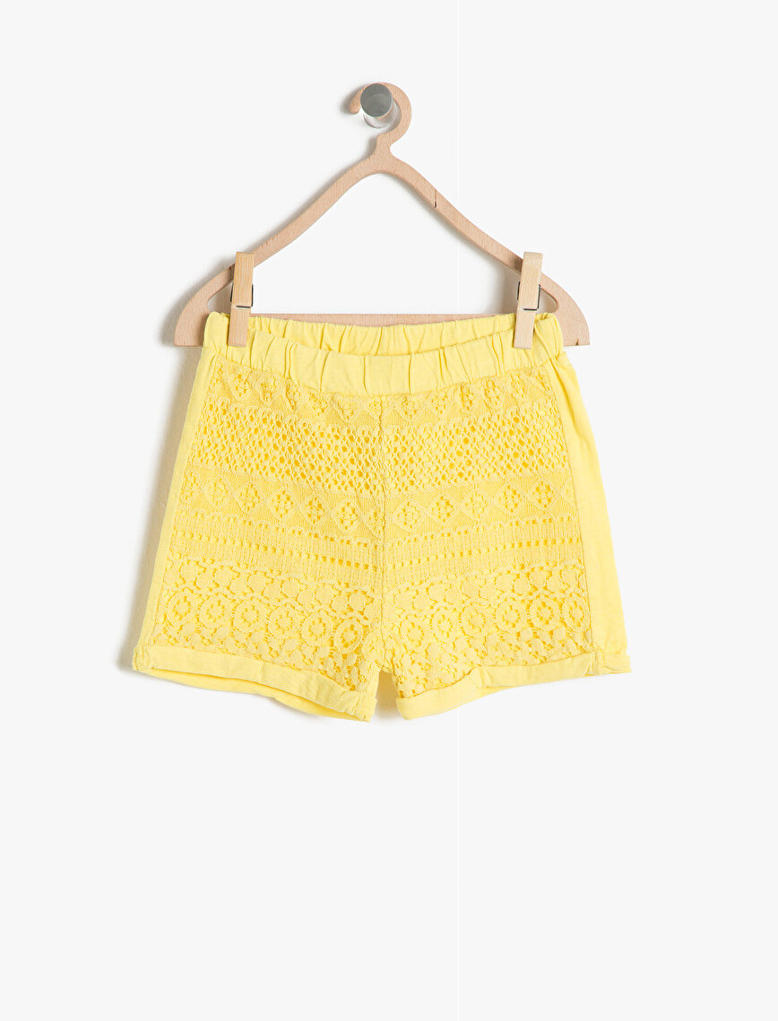 Lace Detailed Short