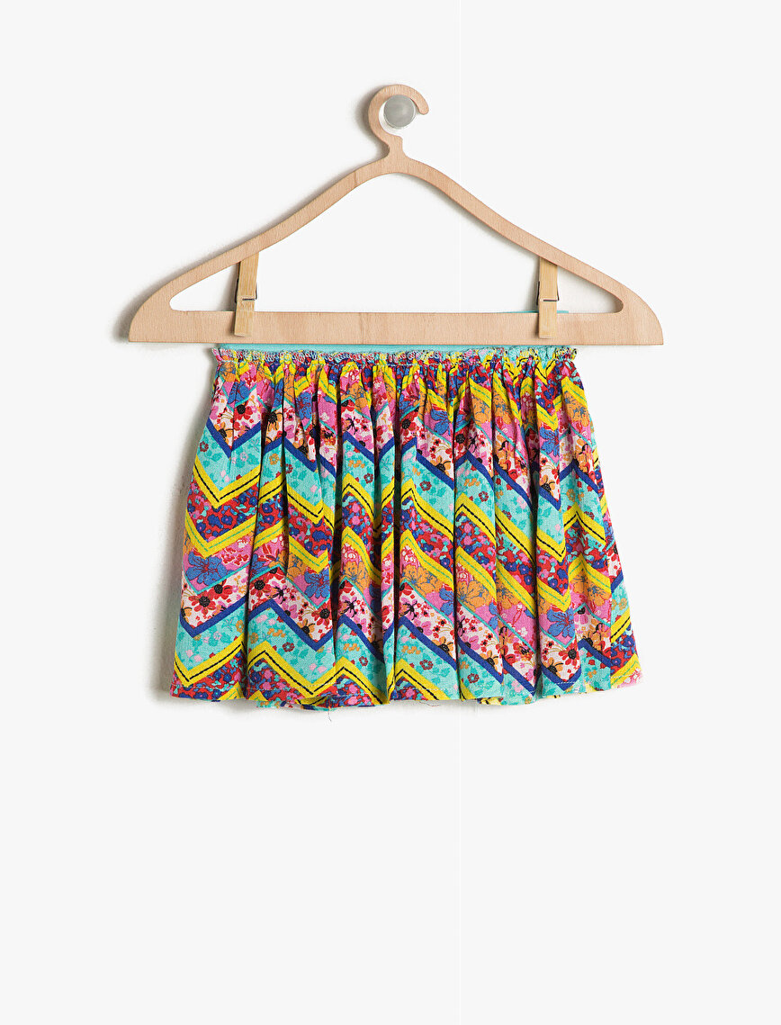 Patterned Skirt