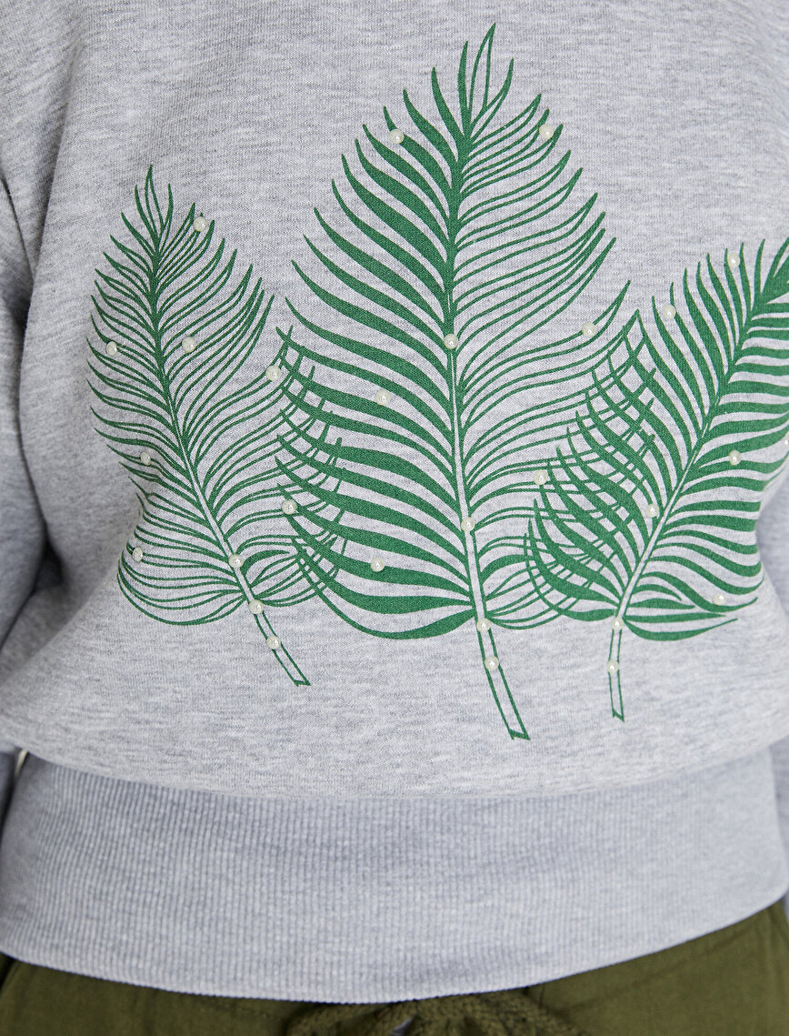 Pearl Detailed Sweatshirt