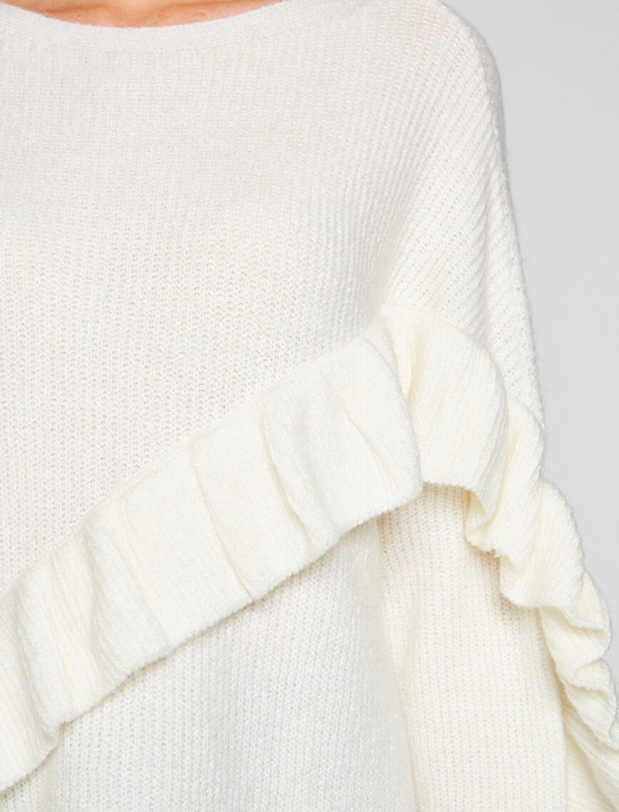 Frill Detailed Jumper
