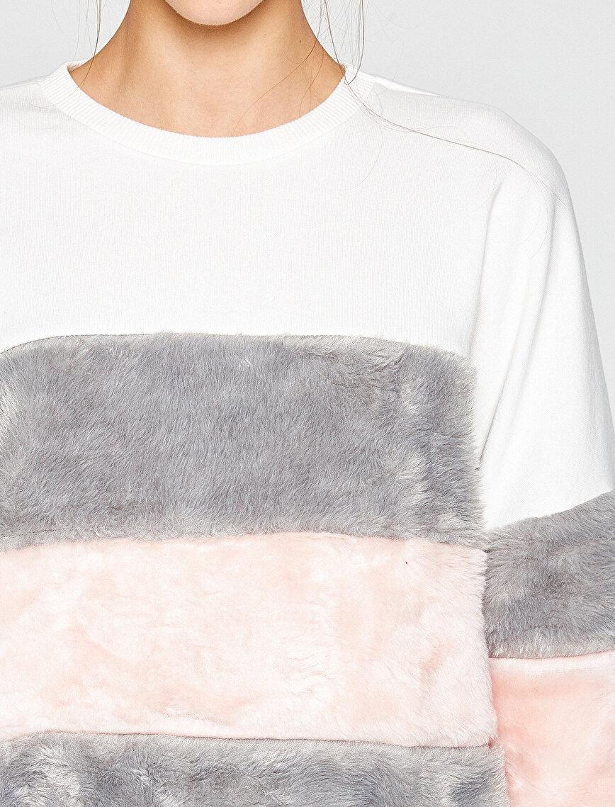 Faur Fux Detailed Sweatshirt