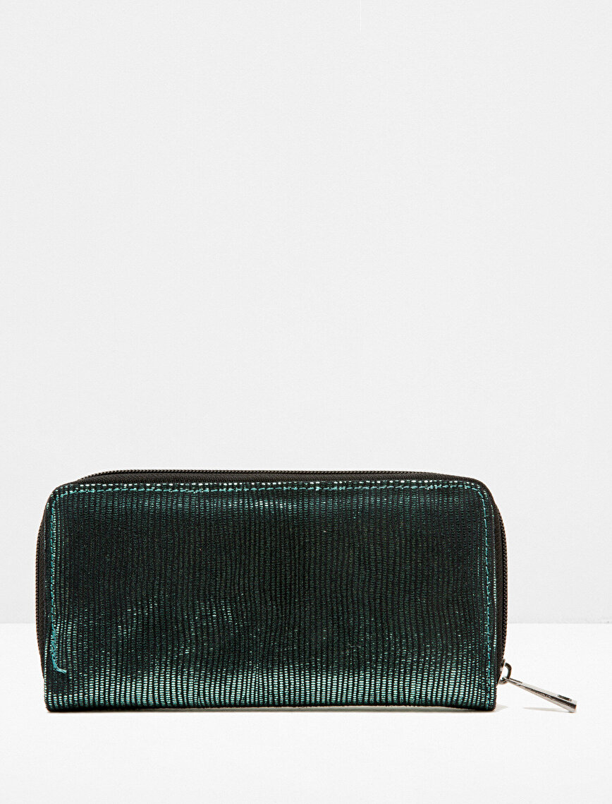 Zipper Detailed Wallet
