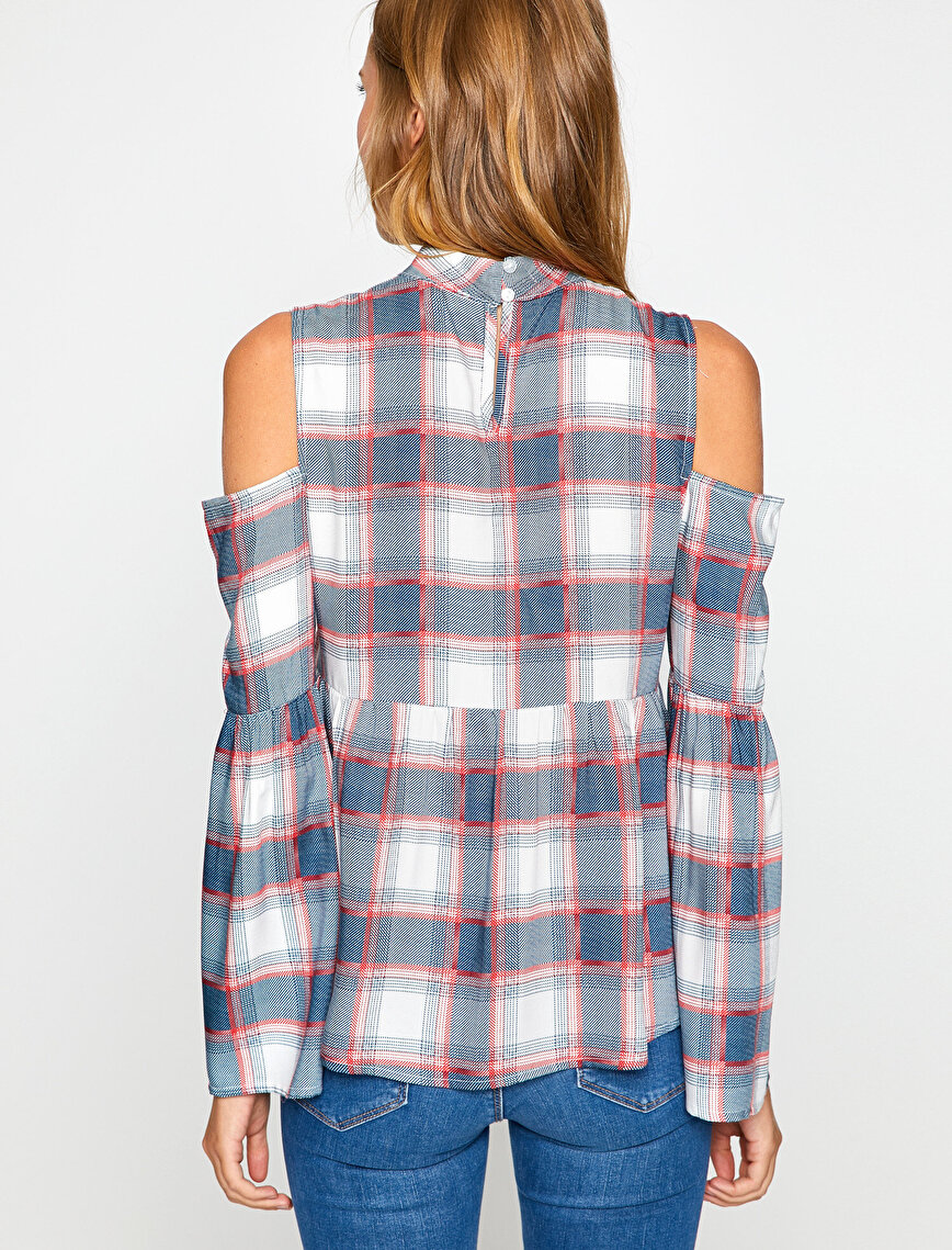 Shoulder Detailed Blouse