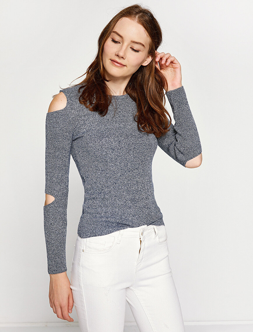 Shoulder Detailed Jumper