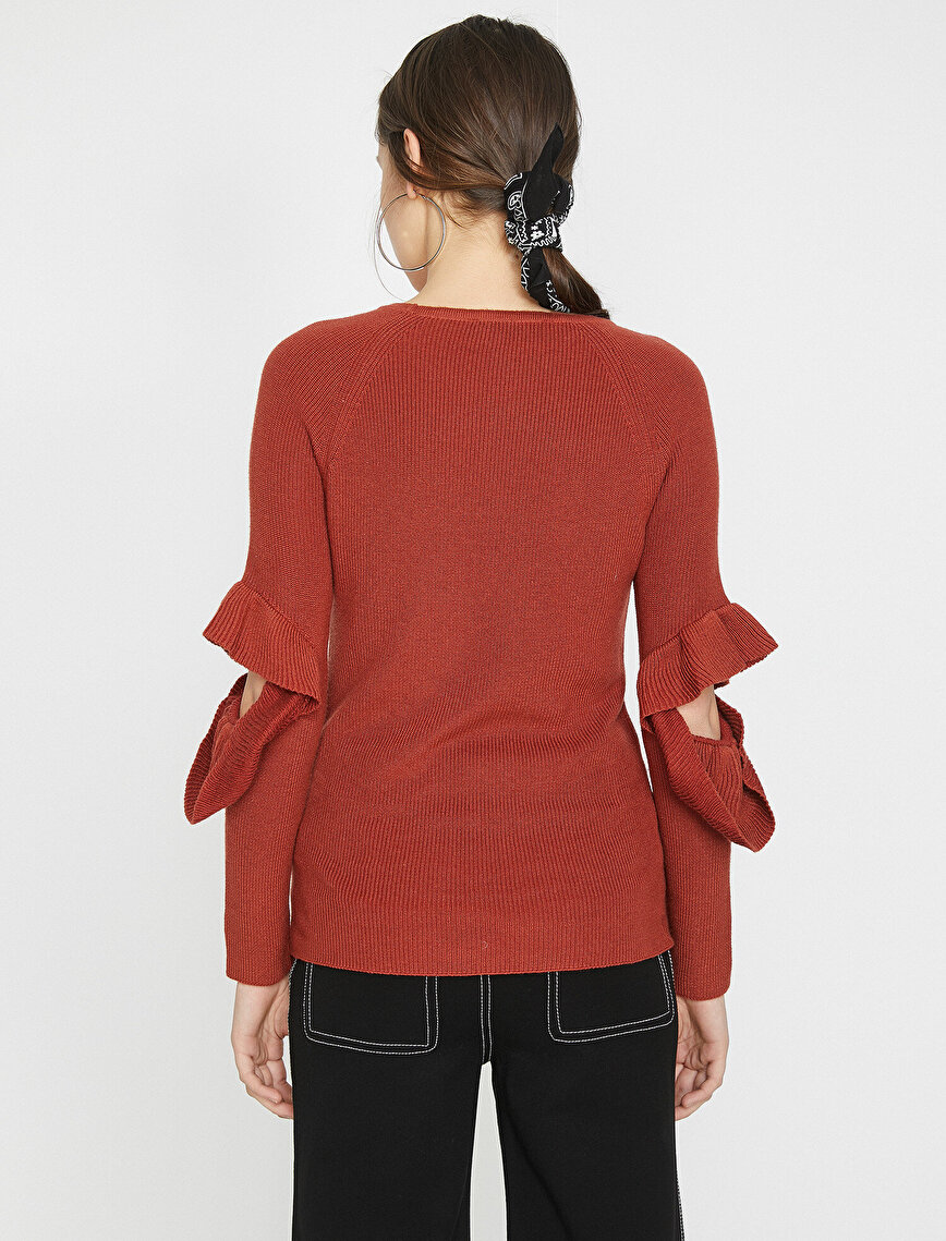 Sleeve Detailed Sweaters