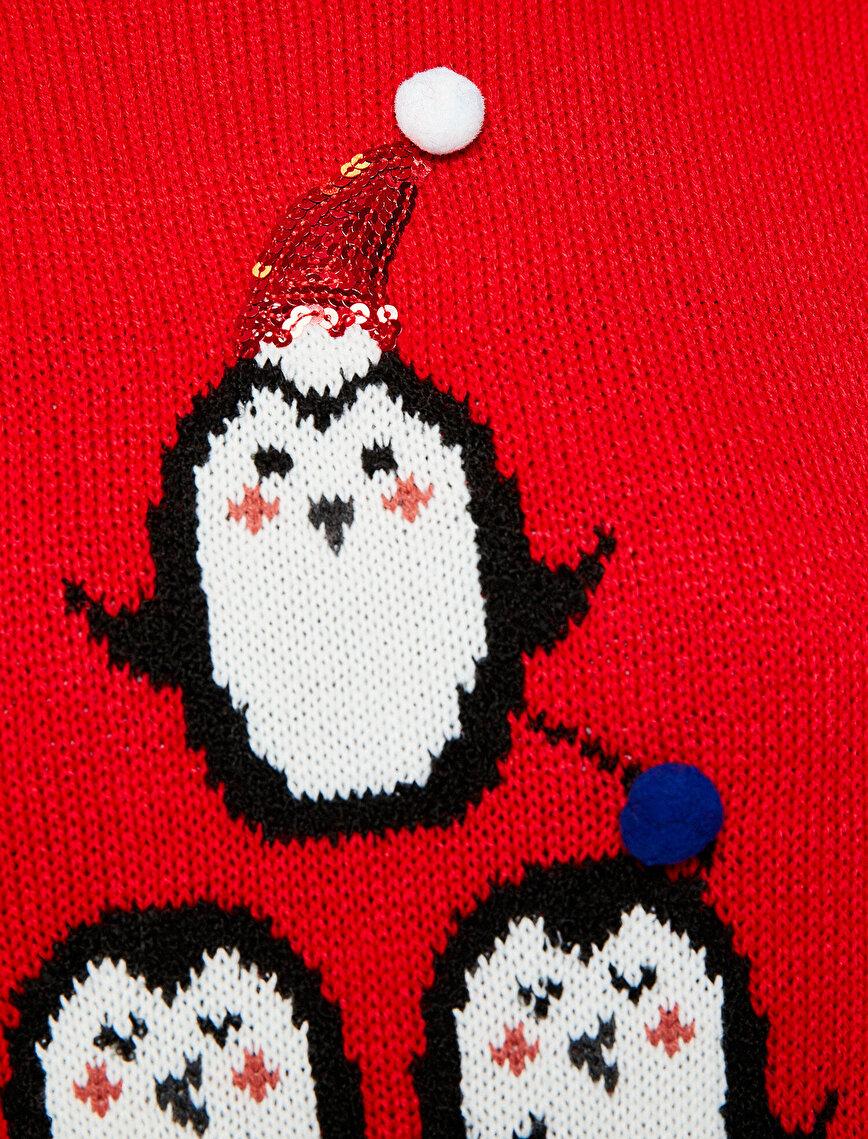 Christmas Detailed Jumper