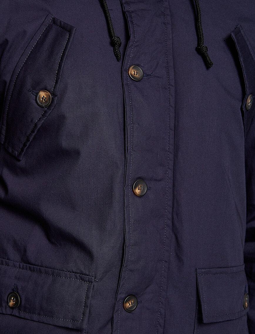 Emblem Detailed Coats