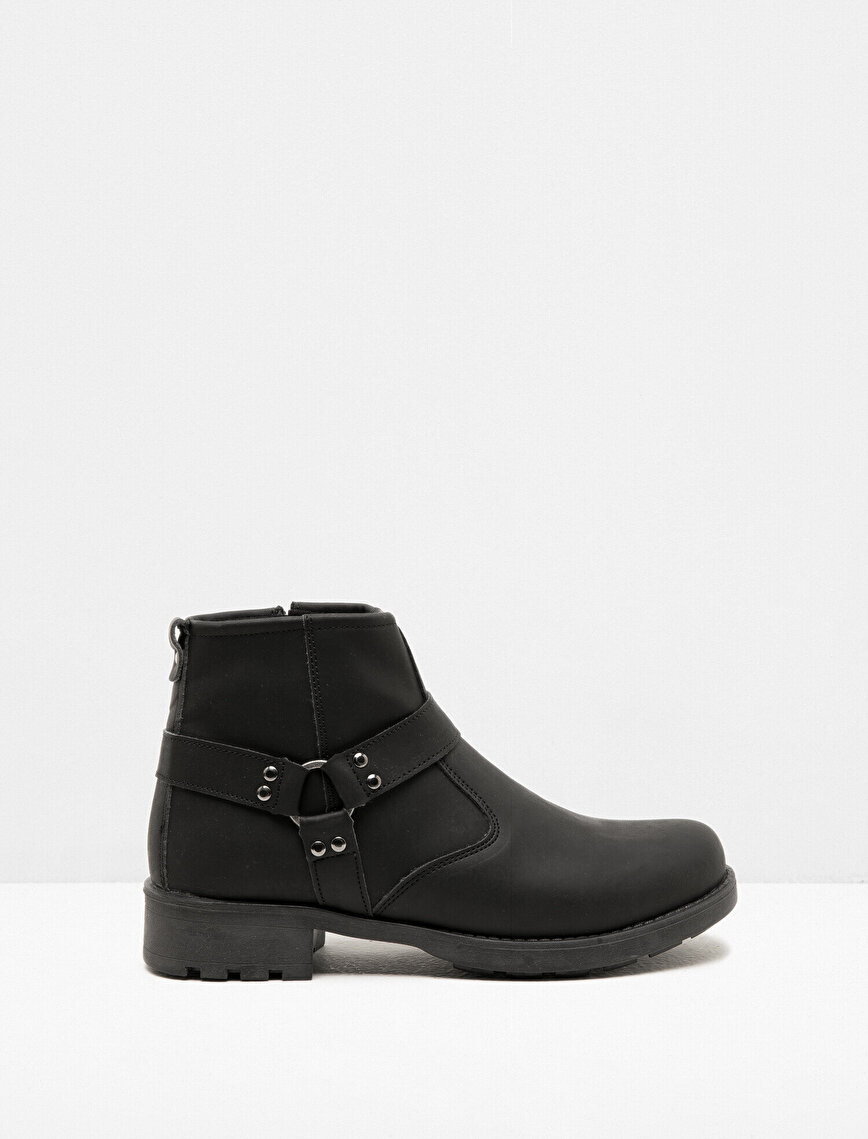 Buckle Detailed Boot