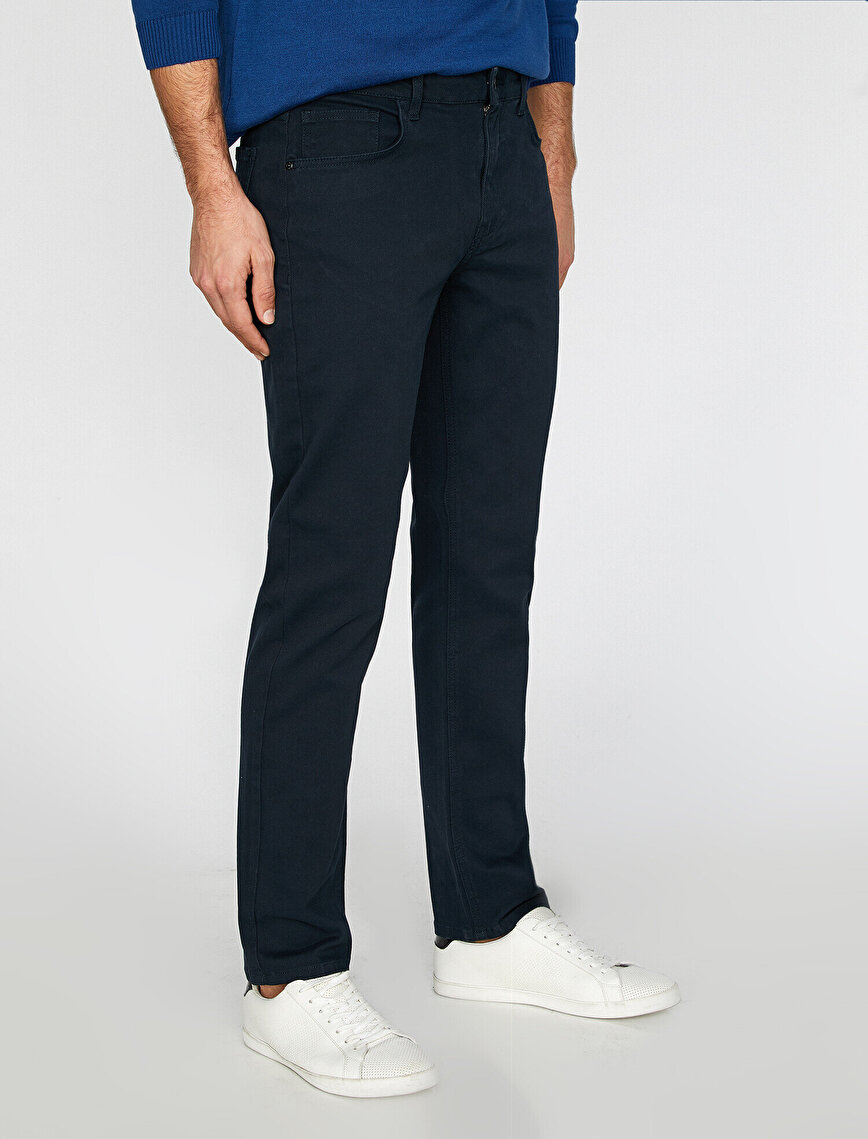 Low Rise Trousers