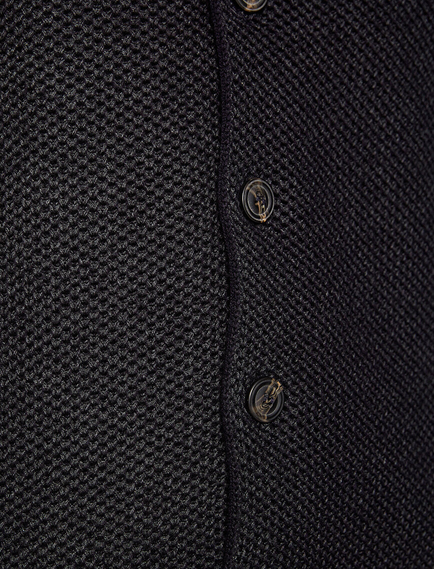 Button Detailed  Cardigan