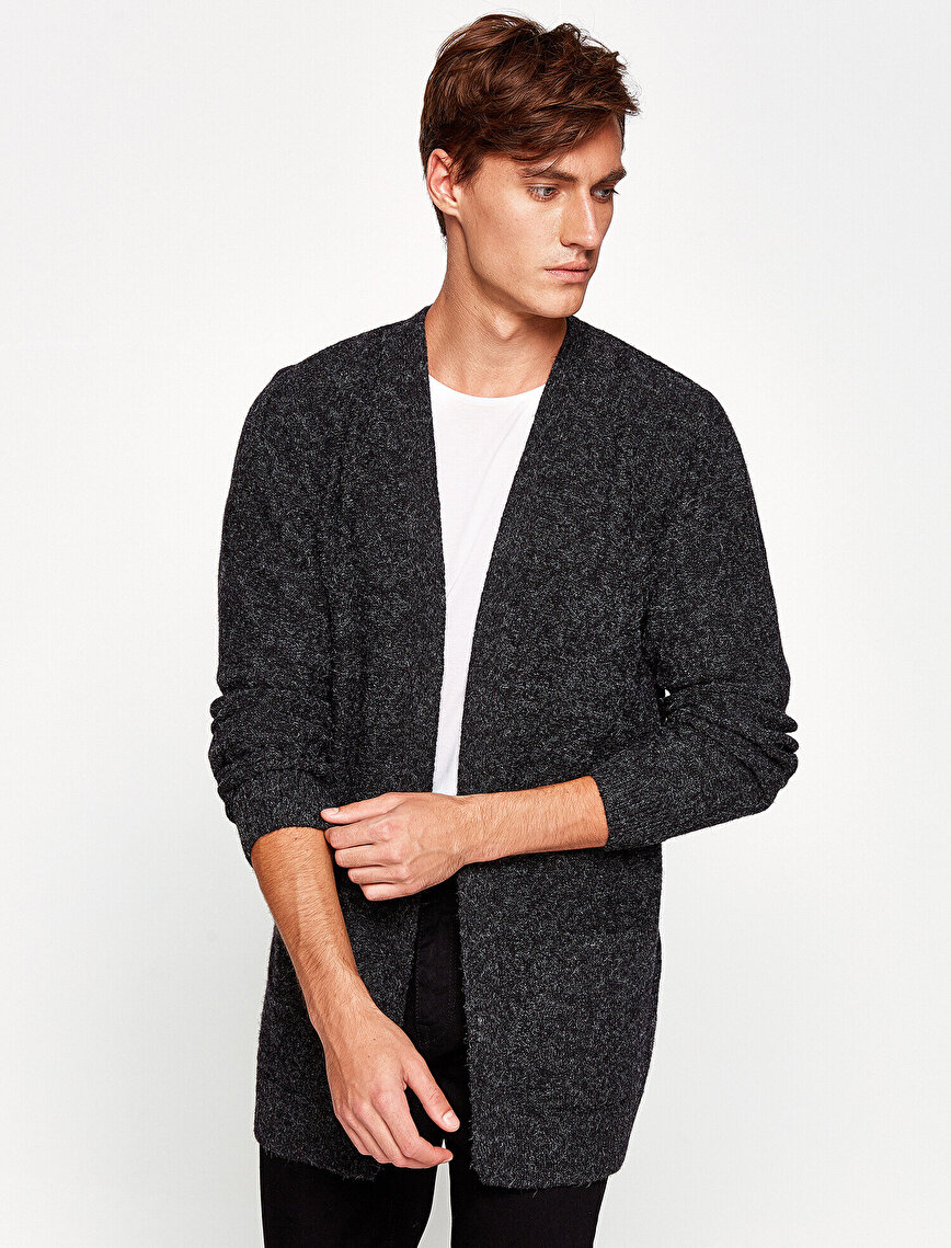 Pocket Detailed Cardigan
