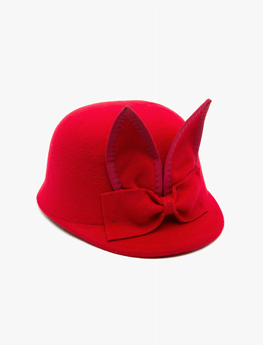 Bow Tie Detaied  Hat