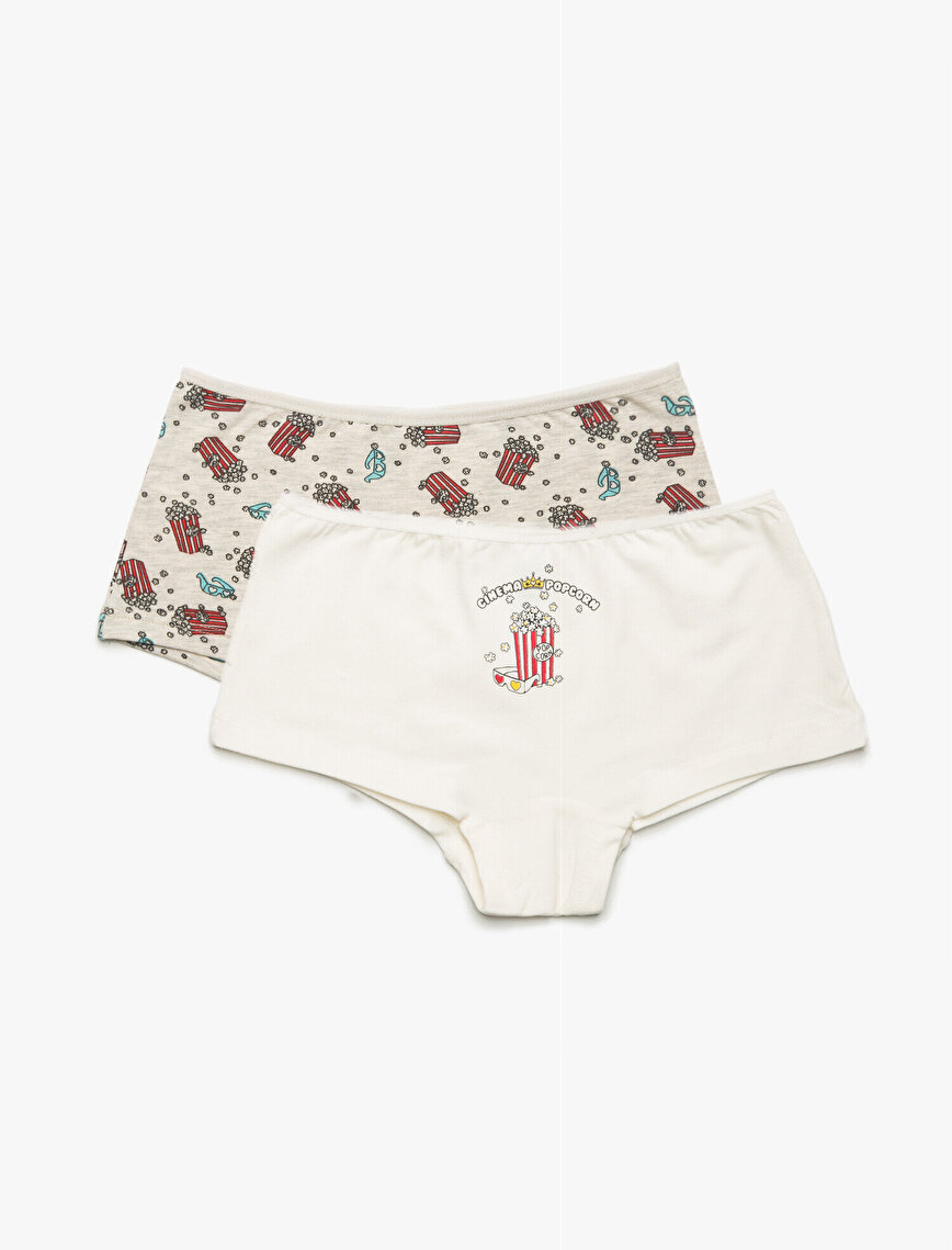 2 Pack Patterned Panty