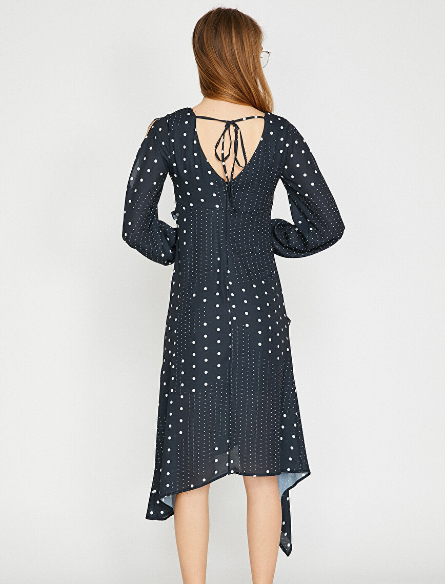 Dotted Detailed Dress