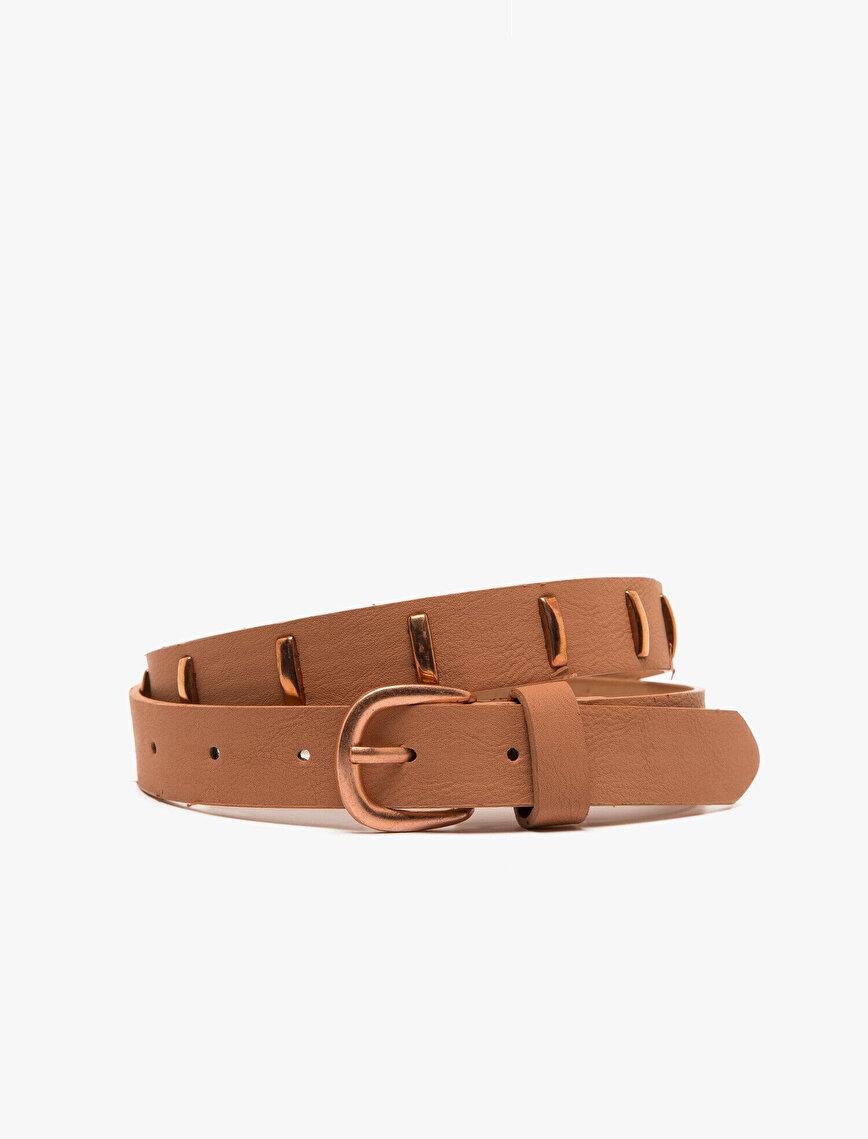 Staple Detailed Belt
